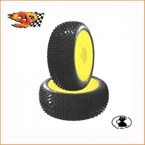 Sp Racing Demolition XSS tires glued (1 pair) SP08900MRM