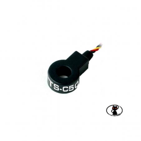55850-Hitec HTS-C50 sensore compatibile con la telemetria Hitec capace di rilevare correnti fino a 50Amp