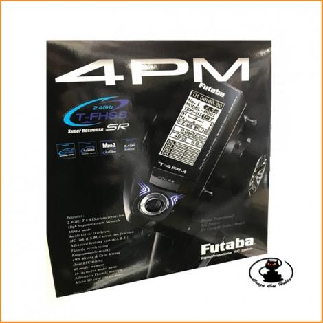 Radiocomando a volantino Futaba 4PM + RX R304SB - FU1028