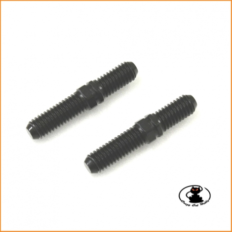 Hard Upper Adjust Rod (Steel/Front/2pcs) Kyosho MP9/MP7.5/NEO