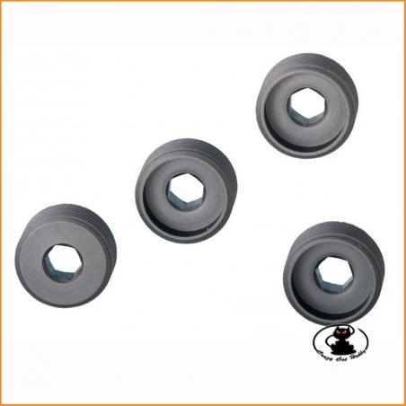 E0159 - Adjust Nut (4 pcs) Mugen Seiki MBX6-7-8-MGT7
