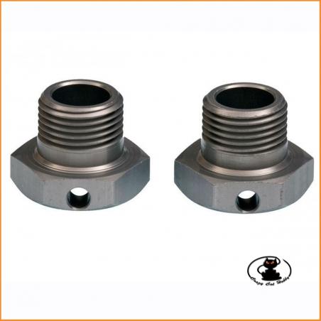 E0239 Wheel Hubs 17 mm 2pcs - Mugen MBX8 MBX7 MGT7
