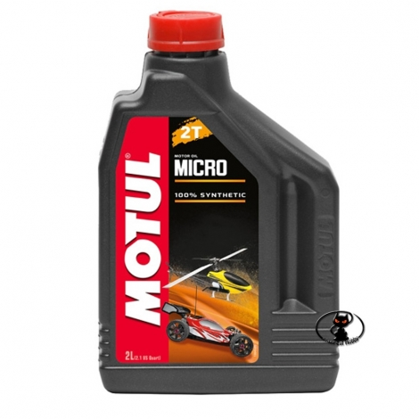 111597-105940 Motul 2T Motor Oil MICRO - oil for alcohol and nitromethane blends for glow engines 2 Lt