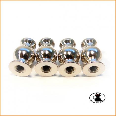 E2804 camber link pivot ball Mugen Mbx8 - Mbx7 ( 4 pieces )