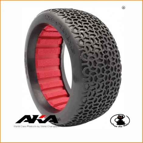 Gomme AKA 1:8 Scribble soft long wear bulk 1 piece only tire