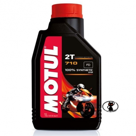 112993-104034 Motul 710 2T 100% synthetic - oil for gasoline-based mixtures