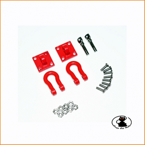 Grillo per carichi pesanti con piastra di fissaggio per scaler scala 1:10 - Absima 2320046