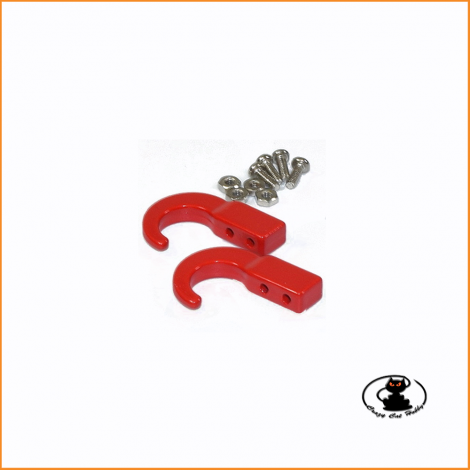 Steel Hooks for Scaler Crawler with screw (2 pcs ) 1:10 - Absima 2320048