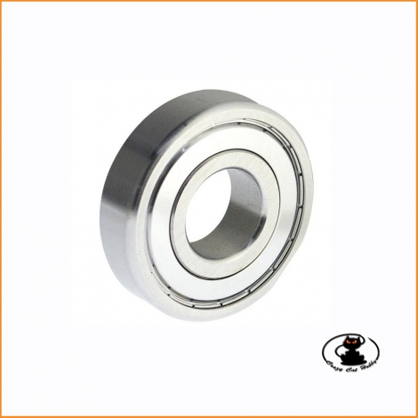 Ball bearing mm 6x17x6 ZZ - 1 piece - 606ZZ