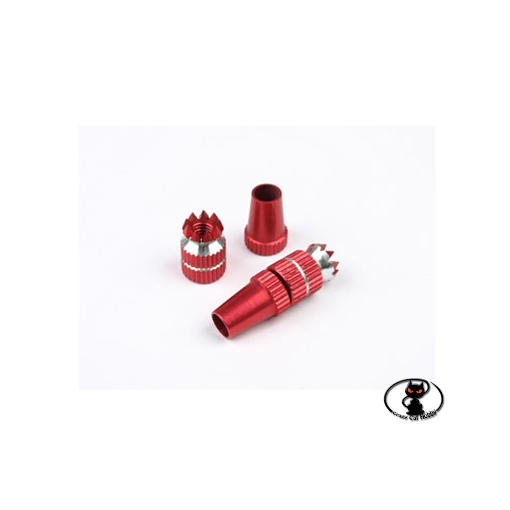 113665-Stick corto per radio Futaba Spektrum Hiteck rosso