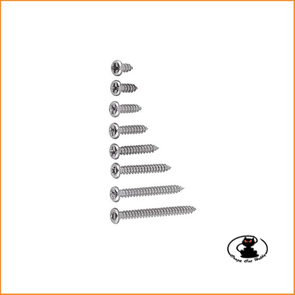 Self-Tapping Screw Cross-Cut 2,5x15 mm ( 10 pcs ) aXes