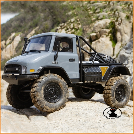 Unimog UMG10 4WD Kit chassis Axial SCX10II - AXI90075