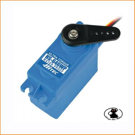 HS-646WP Hitec servocomando standard analogico waterproof  -coppia 9,6-11,6 kg