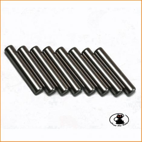 E0210 3x16.8 Wheel Hub Pin (8pcs) - Mugen