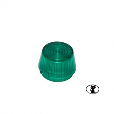 114255-opt4405 Truncated-cone lens ø11 MM. for green color navigation lights for reproductions of airplanes and helicopters