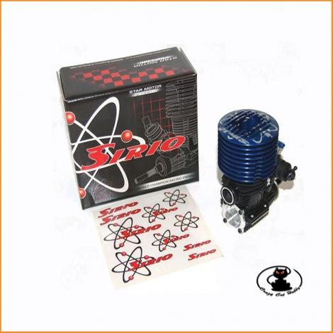 Motore SIRIO XL7 .21 - 7 travasi per off road 1/8