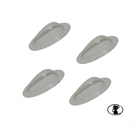 119451-Drip lens for navigation lights mm. 25x11x6 for reproductions of planes and helicopters, Optotronix brand
