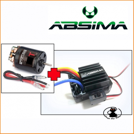 "Combo Motore elettrico ""Thrust B-Spec"" 35T + Esc 40A Crawler - Absima by Hobbywing"