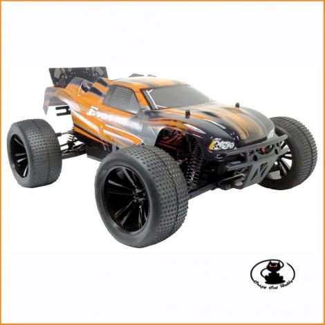 Evo Truggy 1/10 RTR elettrico arancione Black Bull - BB94324