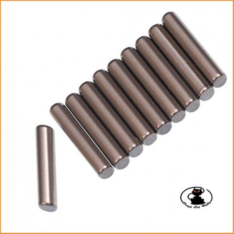C0270 Spine Acciaio mm 3x12.8 Mugen Seiki