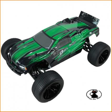 Evo Truggy 1/10 RTR elettrico ( motore a spazzole ) verde Black Bull - BB94324
