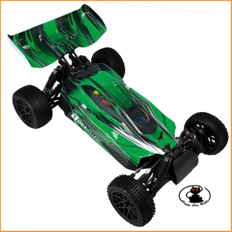 Evo Buggy 1/10 RTR elettrico ( motore a spazzole ) Verde - Black Bull - BB94307
