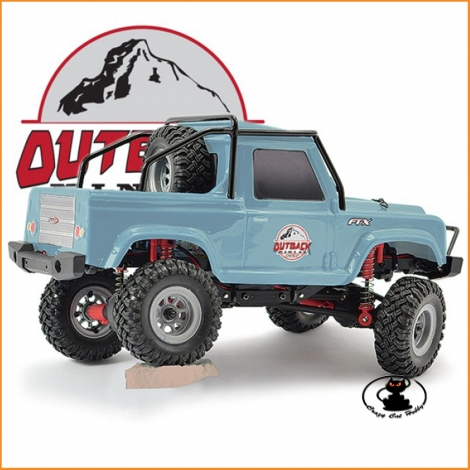 FTX OUTBACK MINI 2.0 RANGER 1:24 READY-TO-RUN LIGHT BLUE