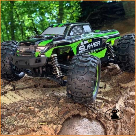 Blackzon Slayer Mini Monster Truck 1/16 4WD Radiocomandato