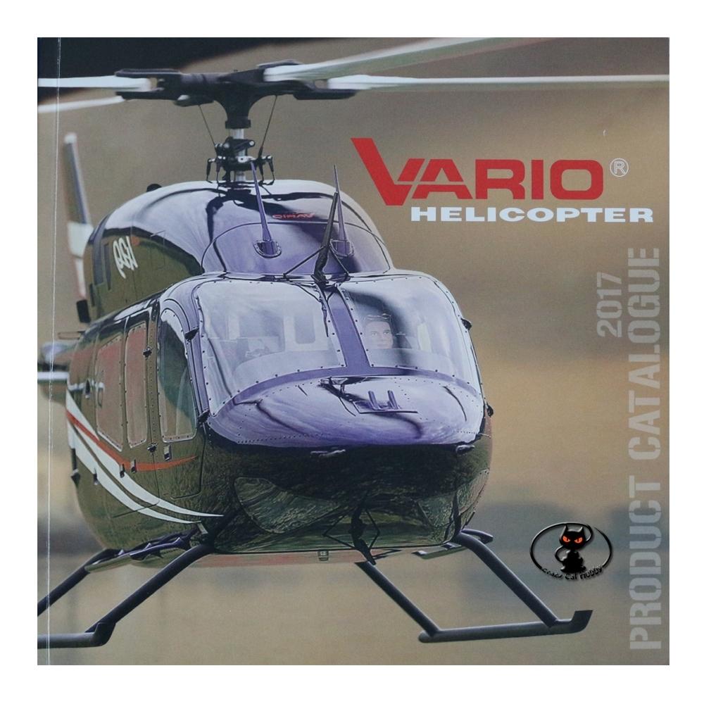 2017E Nuovo catalogo Vario Helicopter edizione 2017 in lingua inglese