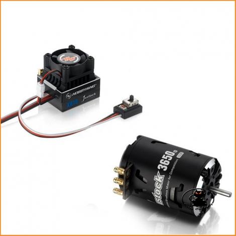 Xerun Combo JS2 XR10 Justock + 10.5T G2 3650Kv - Hobbywing HW38020400