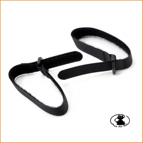 Velcro straps Length about 350 mm  (2 pieces) - aXes 114220