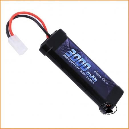 Battery Pack 7.2v 3000 mah NiMh - Tamiya Connector - Gens Ace