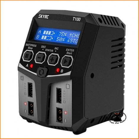 T100 SkyRC Dual Balance Charger - 220 Volt - SK-100162