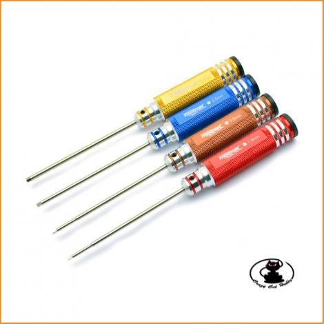 Set Cacciaviti Esagonali Metrici 1,5-2-2,5-3 mm Fastrax - FAST617