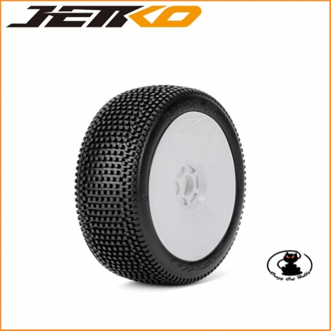 Gomme Jetko 1:8 Block In Ultra Soft Incollate ( 1 coppia ) JK1002USGW