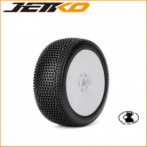 Gomme Jetko 1:8 Block In Super Soft Incollate ( 1 coppia ) JK1002SSGW