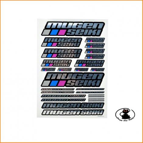 P0403 New Chrome Mugen Logo Sticker