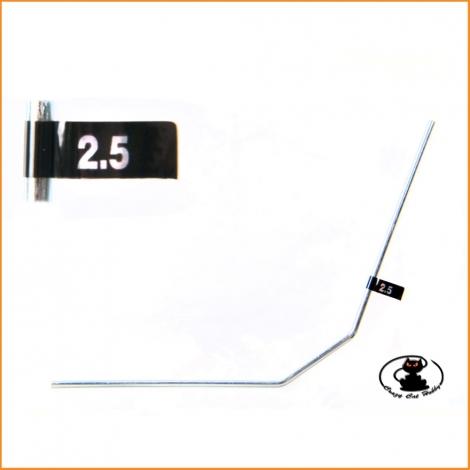 E2138 Rear Anti Roll Bar 2.5 mm MBX MGT Mugen