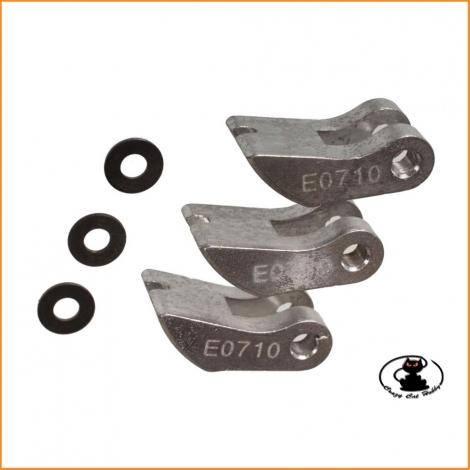 E0710 3PC Aluminum Clutch Shoe Hard Mugen