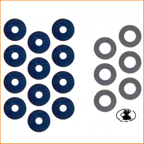 E2243 Differential Washer Set ( 18 pcs ) Mugen MBX MGT