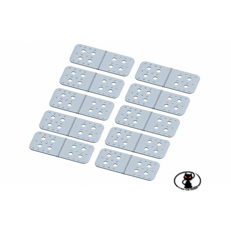 22475 Cerniere Multiplex per EXTRA 330 dimensioni mm 60x25