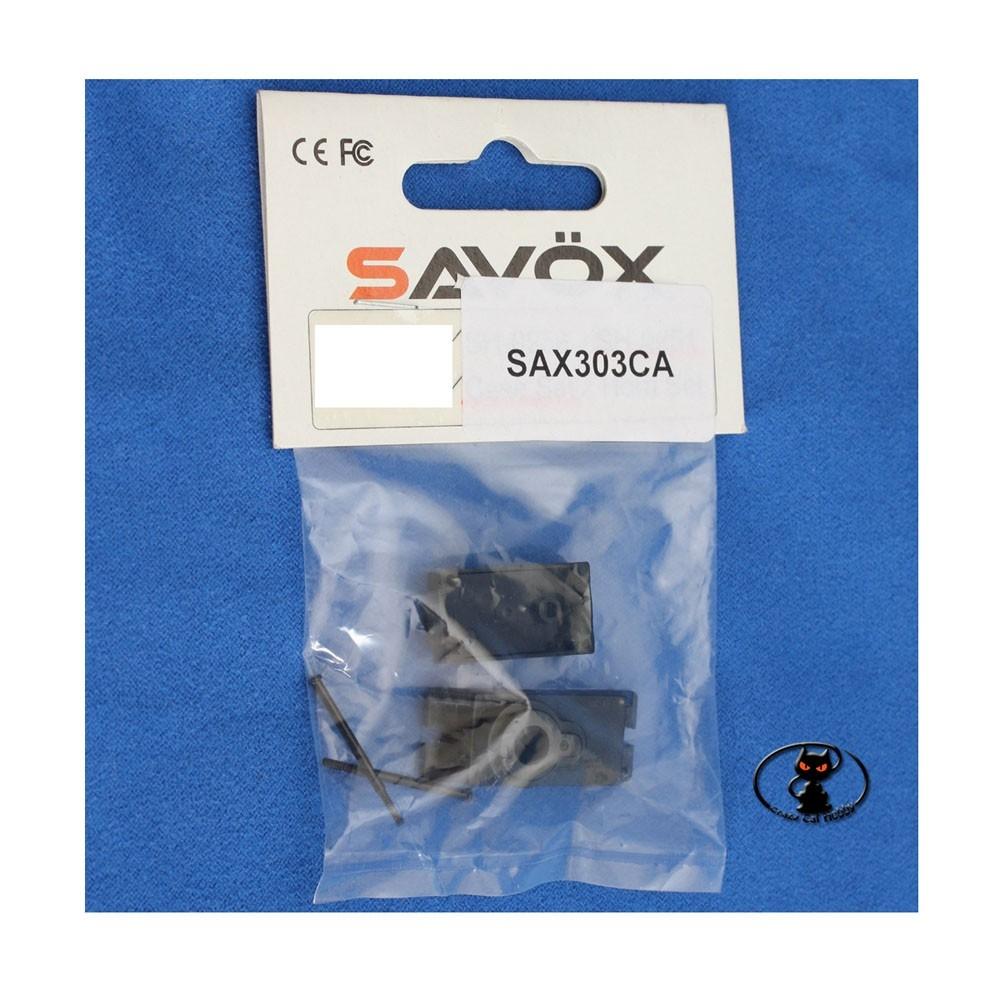 Set ricambi in plastica case per servocomando Savox SH-0254, replacement plastic case set for Savox SH-0254
