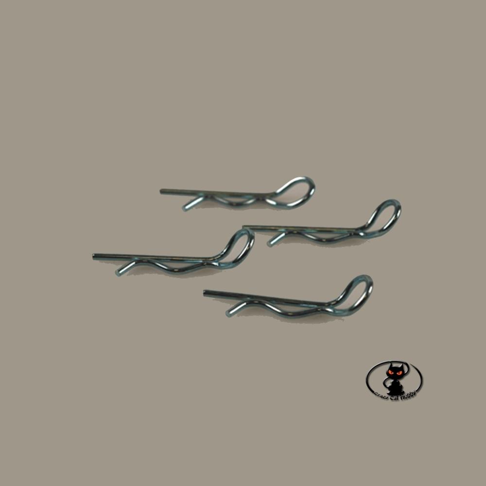 jetsclip8 Clip per carrozzeria piegate per 1:8