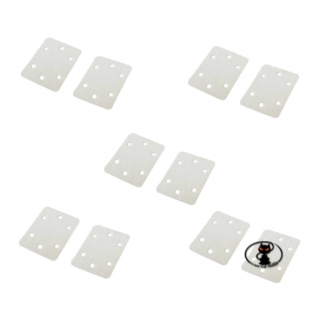 61209-3340 Fabric hinge for swivel aileron flaps rudder aircraft size 25x20 mm 10 pieces