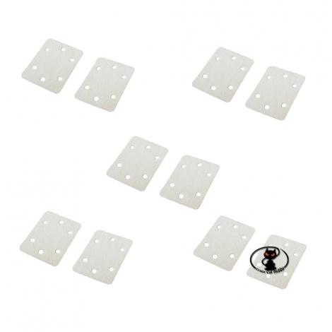 61209-3340 Cerniera in tessuto per snodo alettoni flaps timone di aerei misura mm 25x20 10 pezzi