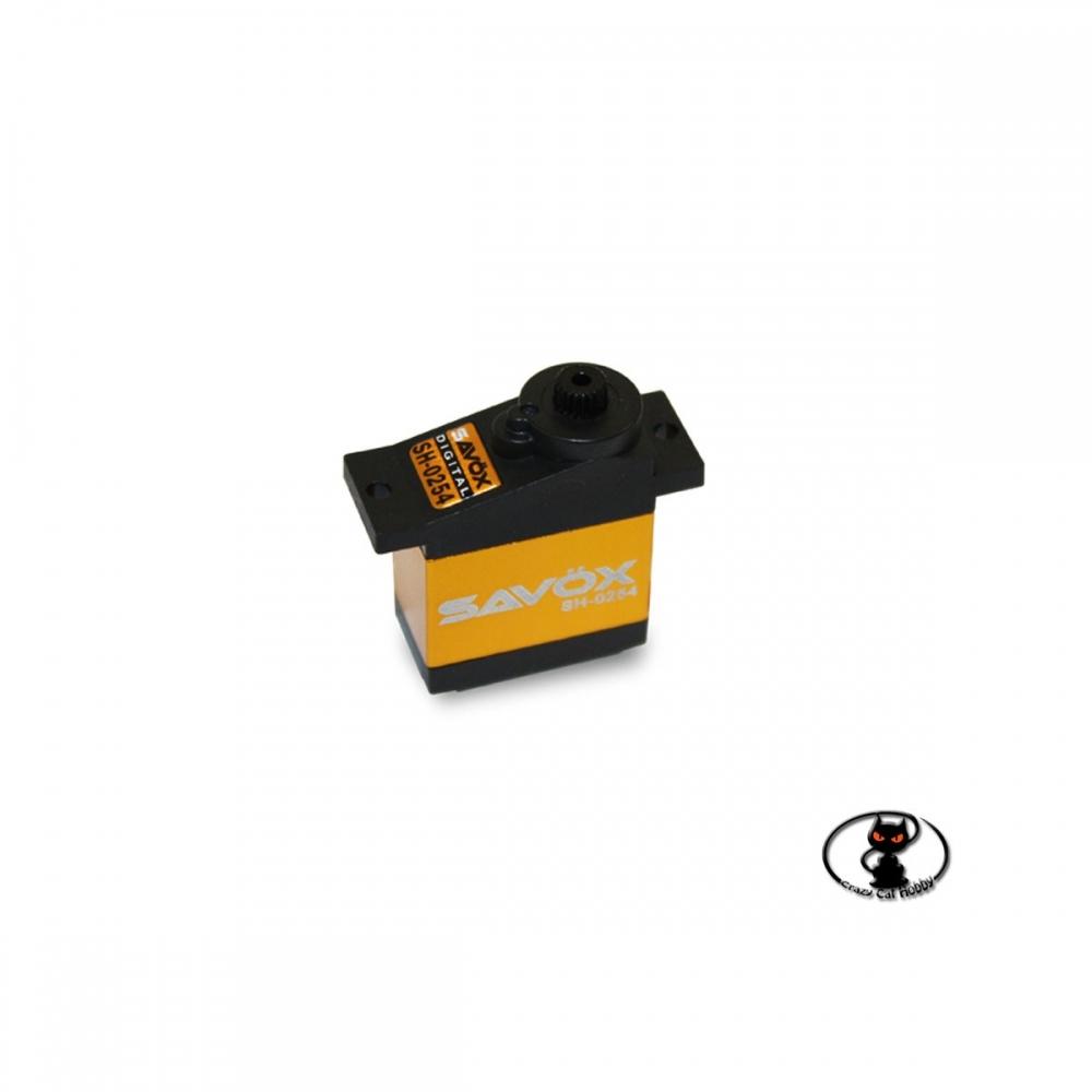 servocomando Savox micro SH-0254 coppia elevata alta velocità