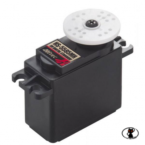 35585S-Hitec HS-5585MH HighTorque is a digital servo with a coreless motor
