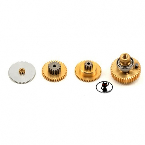 kit ricambi ingranaggi metallo servocomando savox SC-0251