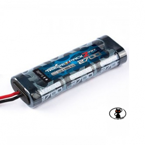 356109 Batteria Orion Rocket stick pack Nimh 7,2V-2700 mAh connettore Tamiya