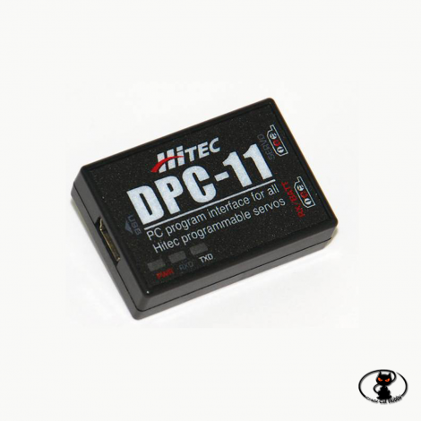 44429 Hitec DPC-11 is the universal interface for programming digital Hitec servos